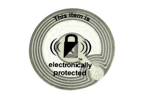 Security labels to prevent shoplifting from retail stores